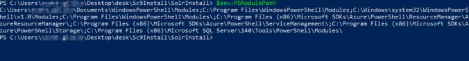 Solr Install - Module Locations